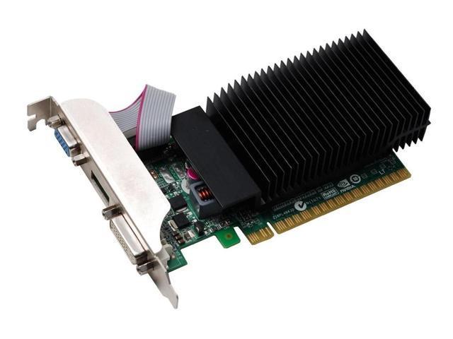 nVidia GeForce 1GB VGA/DVI/HDMI PCI Express x16 Video graphics Card Low profile