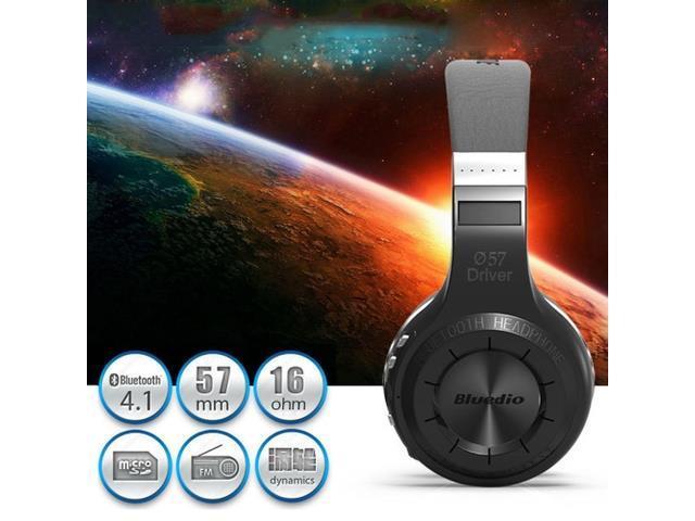 Bluedio Turbine Hurricane H+ Bluetooth 4.1 Wireless Stereo Headphone Mic Radio