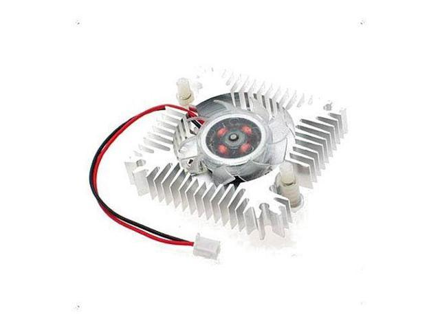 pc vga video card 2 pin 55mm cooler cooling fan heatsink 4800 rpm
