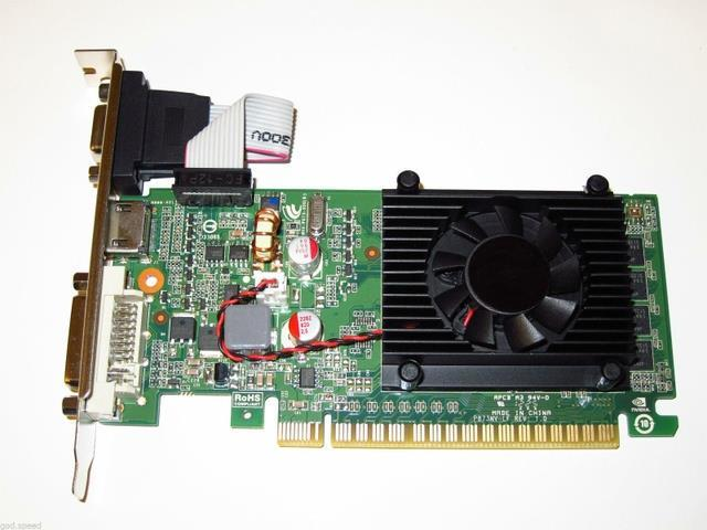 nVIDIA GeForce 8400 GS 1GB   PCI Express PCI-E x16 Dual Monitor Display View Video Graphics Card shipping from US