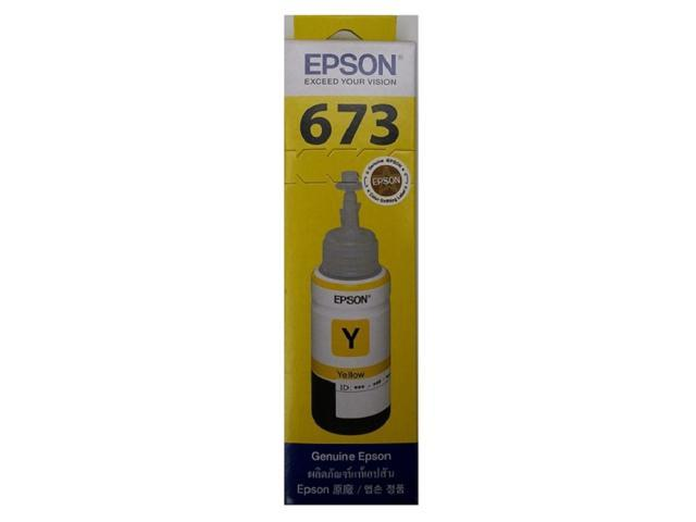 EPSON Official Ink T6734 Yellow Y for EPSON L800 L805