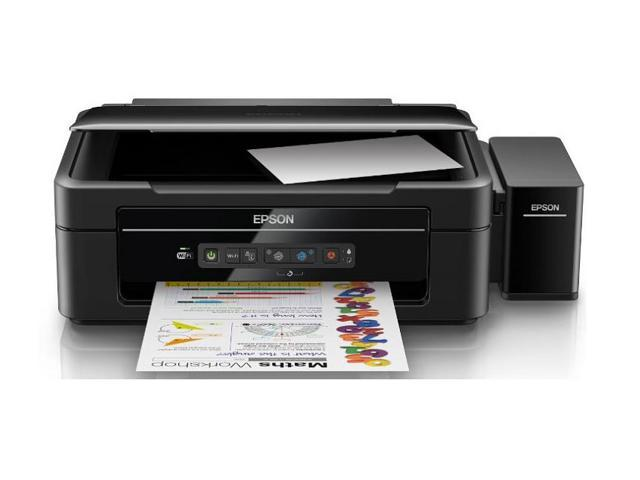 epson l385 all in one wifi inkjet color printer ink tank system