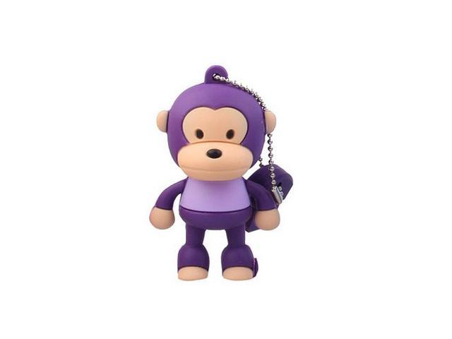 8GB Cute Monkey Shaped Cartoon Portable USB Flash Memory Drive