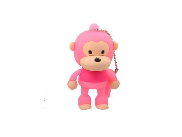 16GB Cute Monkey Shaped Cartoon Portable USB Flash Memory Drive