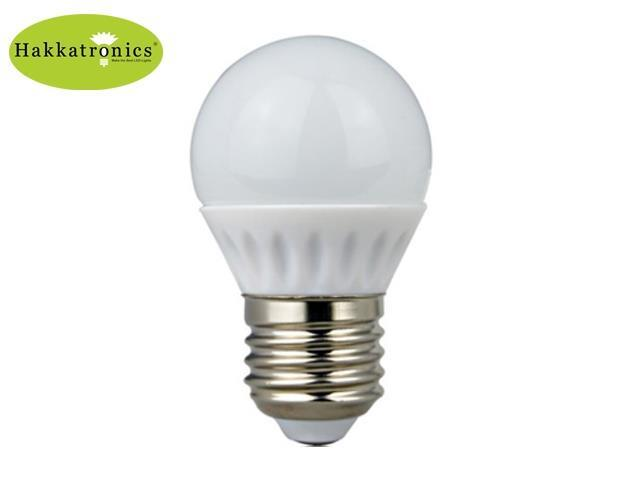 10 Pieces Golbe Led Light Bulb G45 5w 25 Watts Incandescent Bulbs Replace Warm Soft White 2800