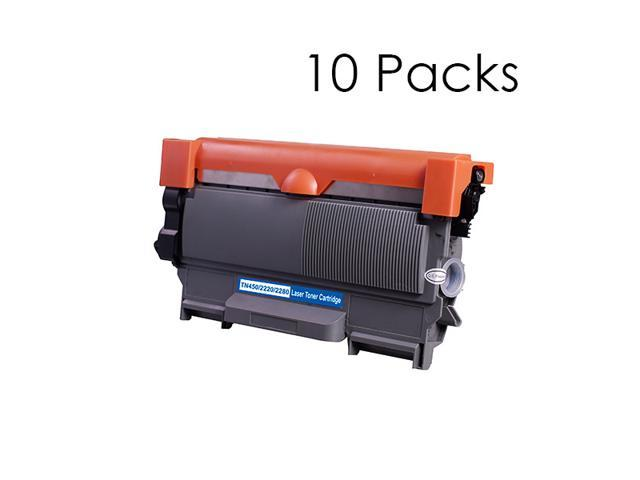 10 Packs NEXTPAGE® Compatible Toner Cartridge For Brother TN450 Use With HL2240D, DCP7060D, DCP7065DN, HL2220, HL2230, HL2240, HL2240D, HL2270DW, MFC7360N, MFC