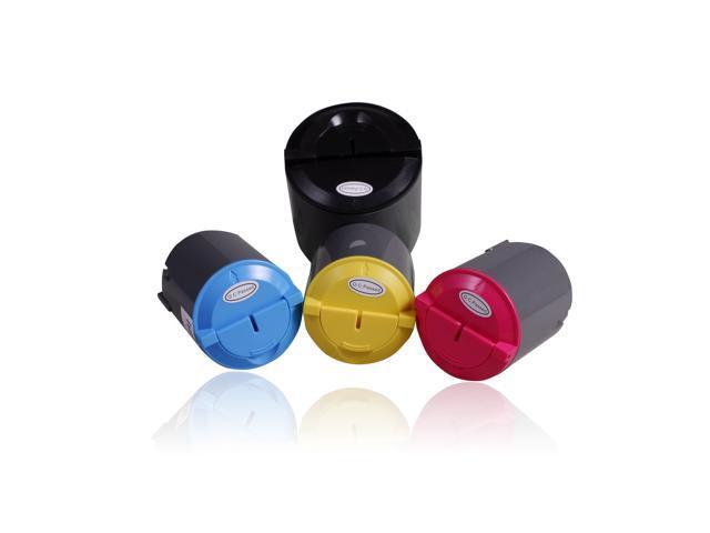 NEXTPAGE® Compatible Samsung CLP-300 CMYK Toner Cartridge use with Samsung CLP 300 / CLP 300N / CLP-300 / CLP-300N / CLX 3160FN / CLX-2160 / CLX-2160N