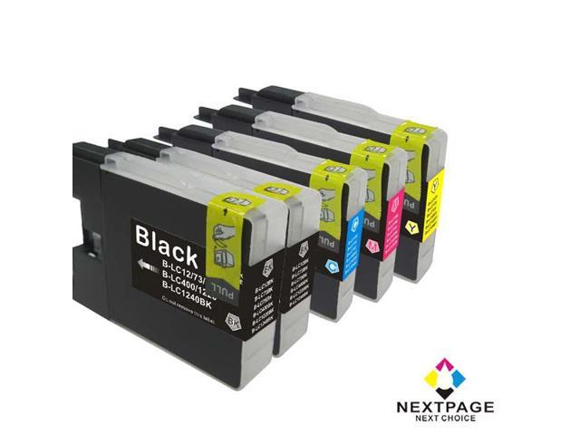 5 Pack Set NEXTPAGE® Compatible BROTHER LC75 Inkjet Cartridge (2 pack LC75BK, LC75C, LC75M, LC75Y)