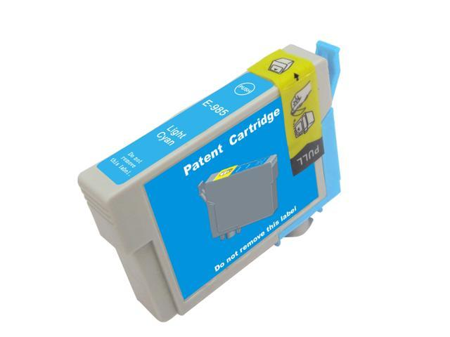 NEXTPAGE® Compatible EPSON T0985 (T098520) Light Cyan Ink Cartridges
