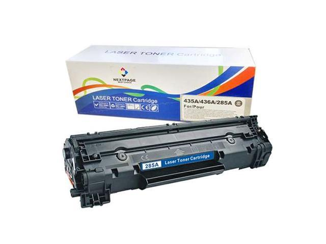 NEXTPAGE Compatible Toner Cartridge For HP CE285A 85A 2,000 Page Yield Black Toner Use With LaserJet Pro P1100 P1102 P1102w P1415nw