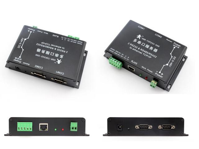 WWH-2-RS232 port RS485 or RS422 serial to Ethernet server converter