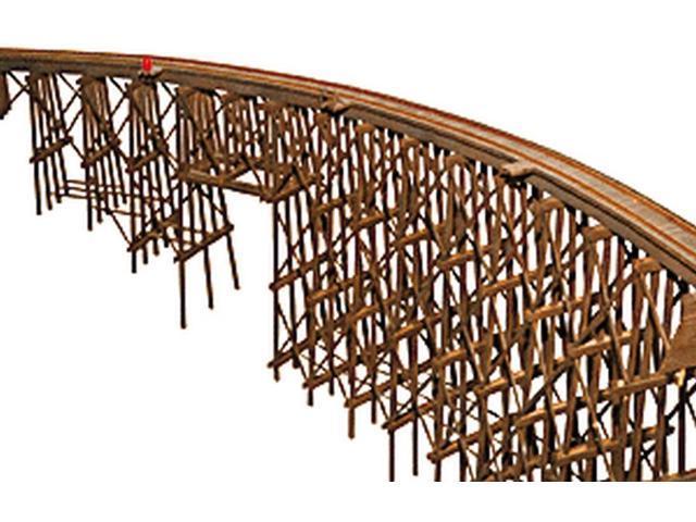 Jv models curved trestle