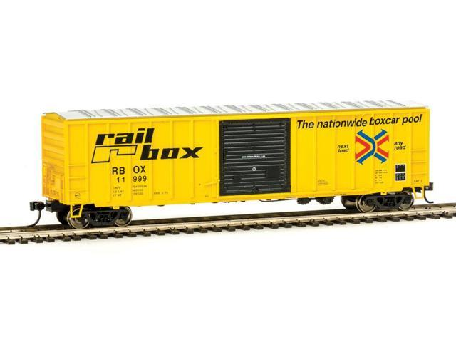 Walthers-50' ACF Exterior-Post Boxcar - Ready to Run -- Railbox (11000 series) #