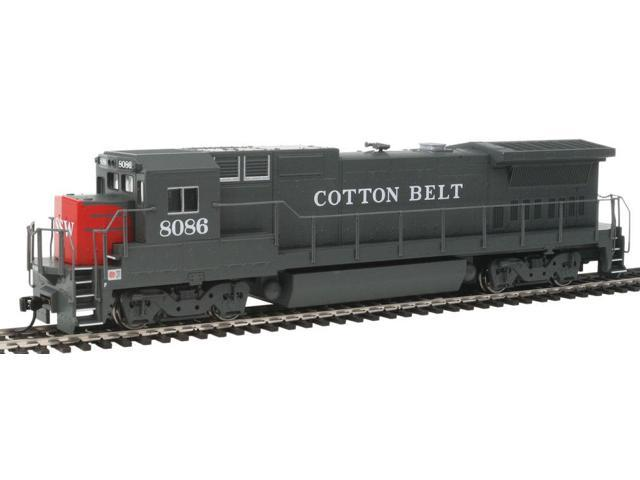 Walthers Mainline - GE Dash 8-40B - Standard DC -- Cotton Belt? #8086 - HO