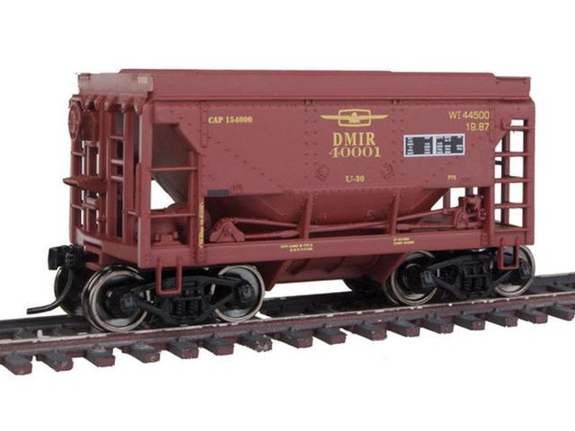 Walthers-24' Minnesota Taconite Ore Car 4-Pack - Ready To Run -- Duluth, Missabe