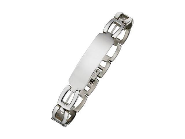 Men's Steel ID Bracelet
