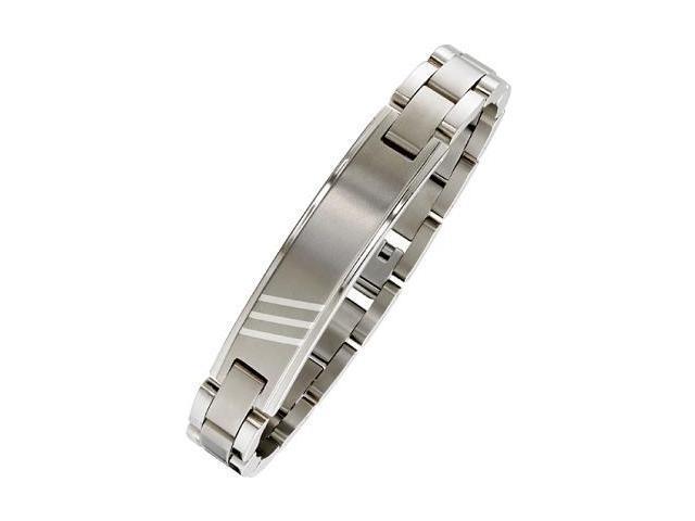 Men's Stainless Steel Triple Line Bracelet
