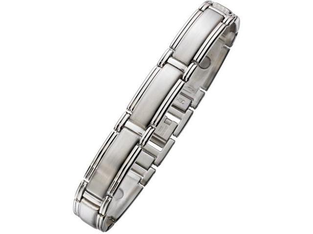 12mm Designer Magnetic Steel Men's Bracelet
