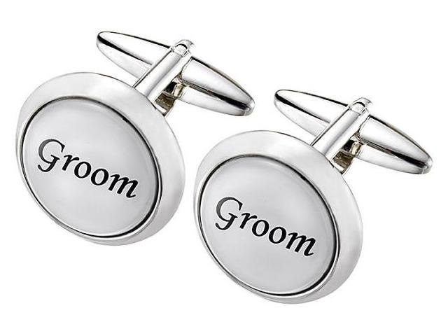 Men's Stainless Steel USHER Cufflinks