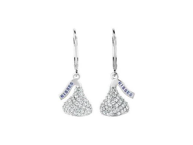 HERSHEY'S KISSES® Cubic Zirconia Leverback Earrings