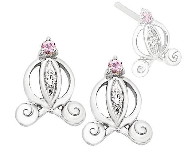 Disney® Cinderella Carriage Diamond Earrings