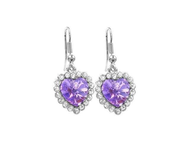 38 Stone SWAROVSKI® Elements Heart Earrings