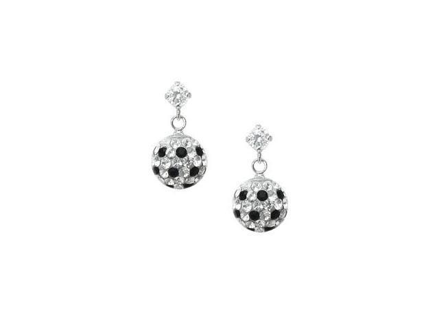 SWAROVSKI® Elements Genuine Sterling Silver Ball Stud Earrings
