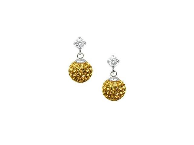 SWAROVSKI® Elements Ball Stud Earrings