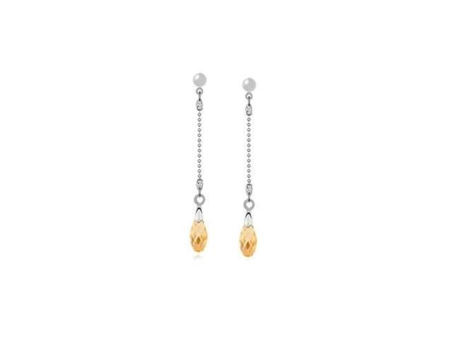 8 Stone SWAROVSKI® Elements Drop Style Earrings