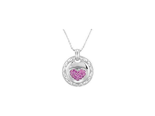 Sterling Silver Strength Of A Mother Pendant ~ Deborah J. Birdoes with a chain