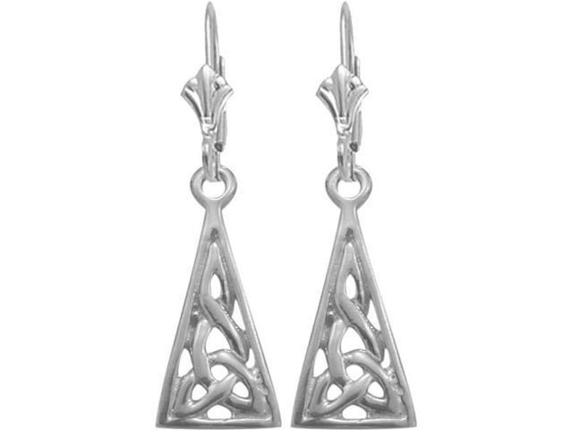 Genuine Sterling Silver Celtic Earrings
