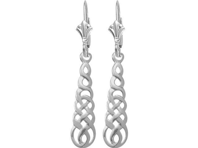Celtic Genuine Sterling Silver Earrings