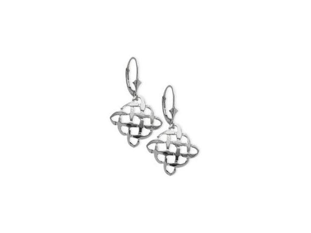 Genuine Sterling Silver Celtic Knot Earrings