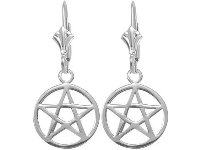 Genuine Sterling Silver Celtic Star Earrings