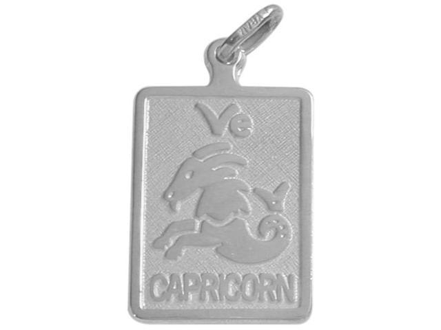 Sterling Silver Capricorn Zodiac Pendant with Chain