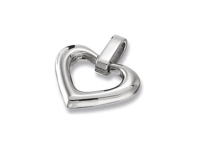 Stainless Steel Heart Pendant with a chain