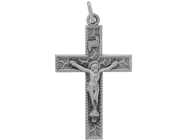 Sterling Silver Religious Crucifix with chain