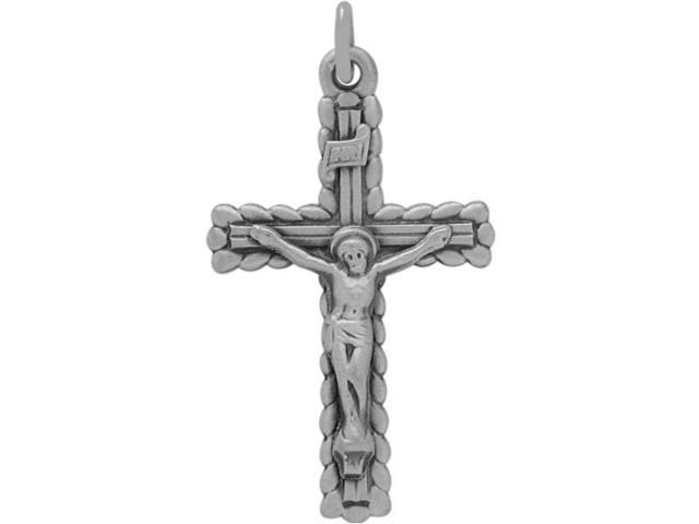 Genuine Sterling Silver Religious Stylish Crucifix with chain