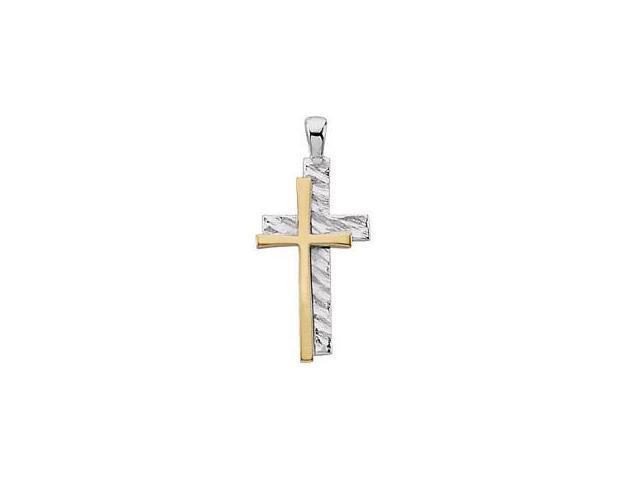 Genuine Sterling Silver Resolution Cross with a chain