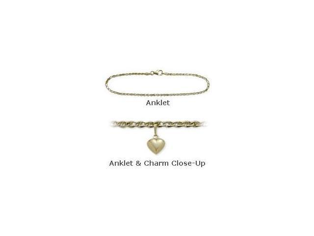 14K Yellow Gold 9