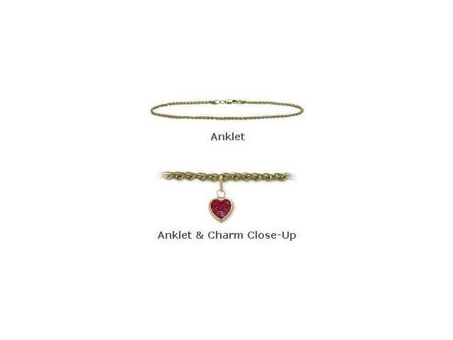 14K Yellow Gold 10