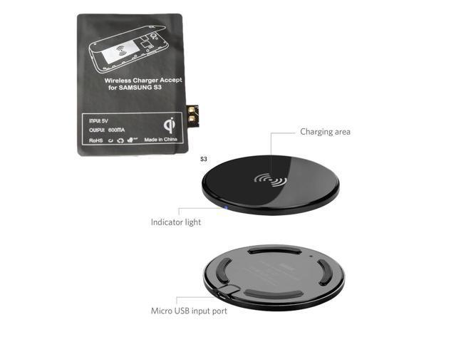 Ultra-Slim V300 QI Standard Wireless Charger Power ...