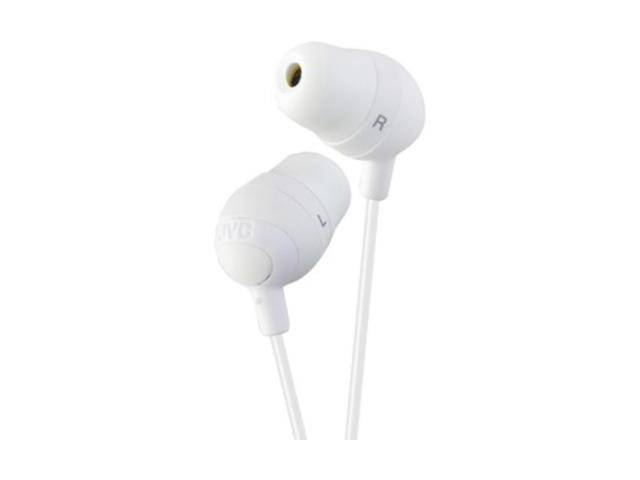JVC White HAFX32W Marshmallow Earbuds