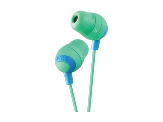 JVC Green HAFX32G Marshmallow Earbuds