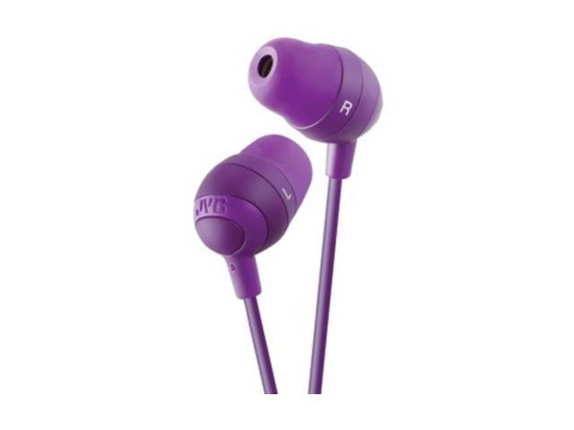 JVC Violet HAFX32V Marshmallow Earbuds