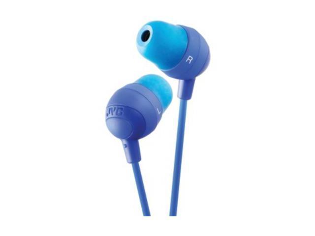 JVC Blue HAFX32A Marshmallow Earbuds