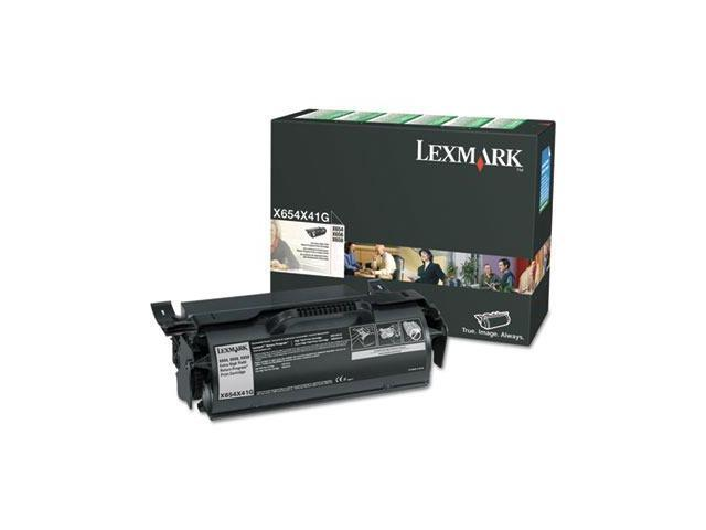 LEXMARK X654X41G High Yield Black Toner