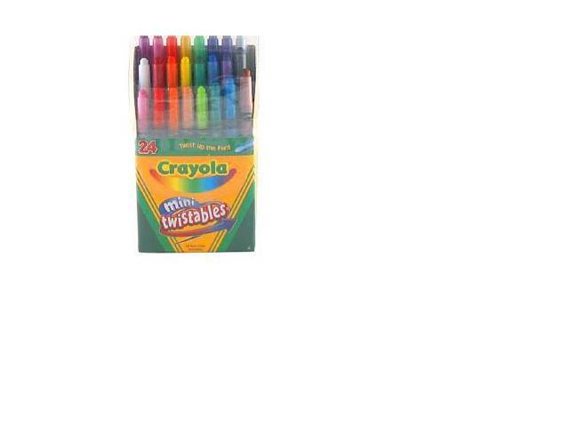 Twistables Mini Crayons 24 Colors/Pack