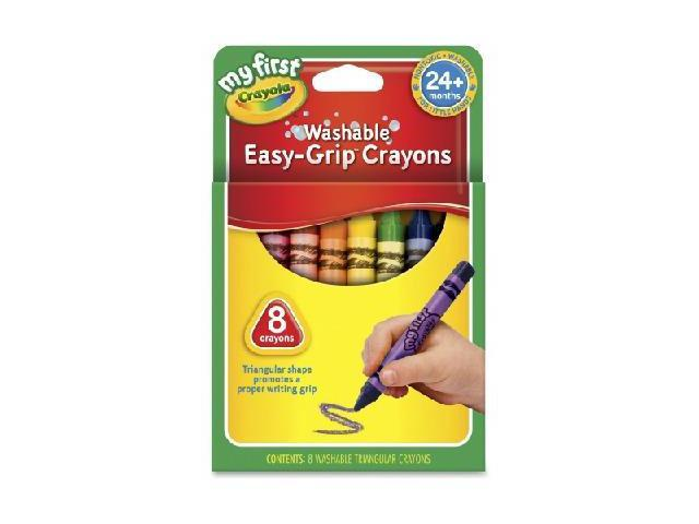 Crayola My First Triangular Crayons - 8 ct. CYO811308