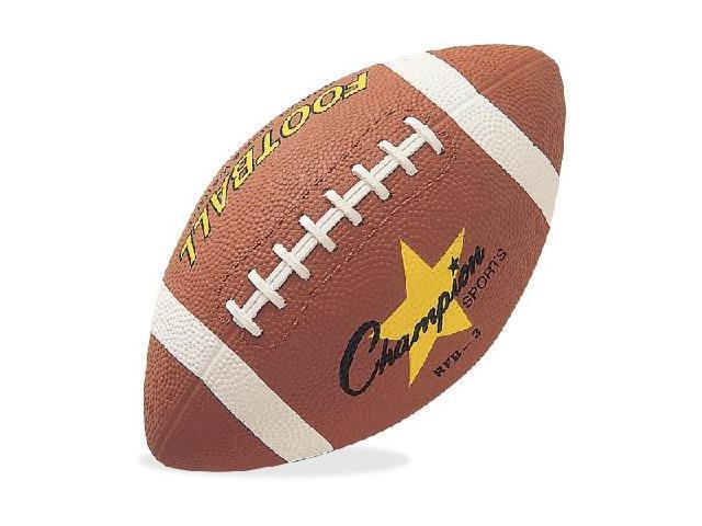Rubber Sports Ball For Football Junior Size Brown